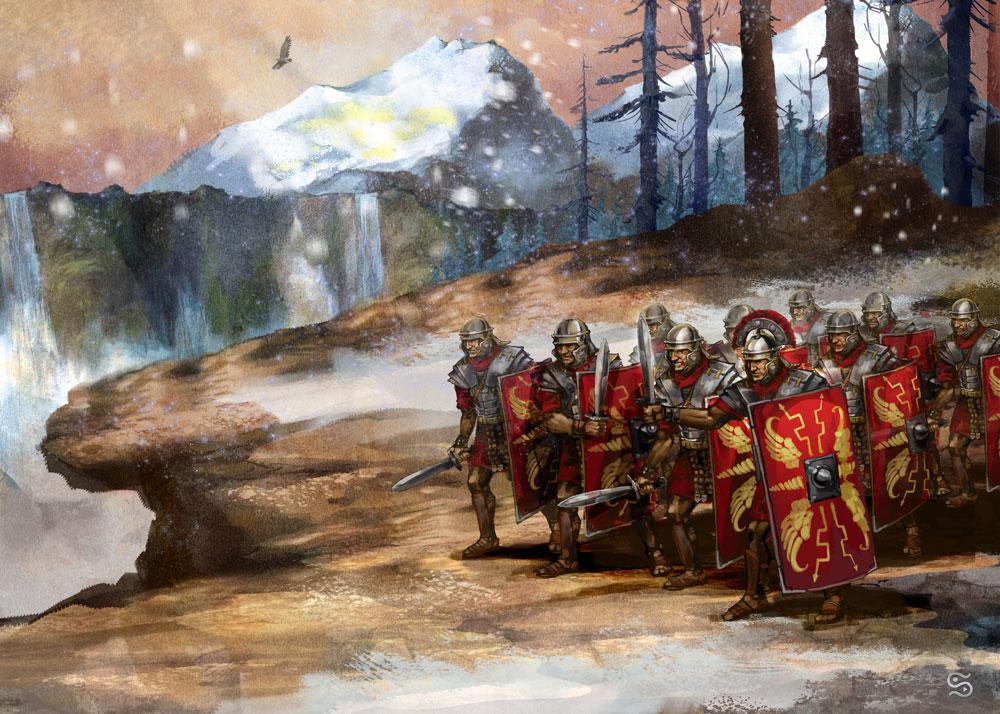 Římská armáda dobývá stále nová a nová území, ovšem výdaje na ni jsou pro státní kasu neúnosné.