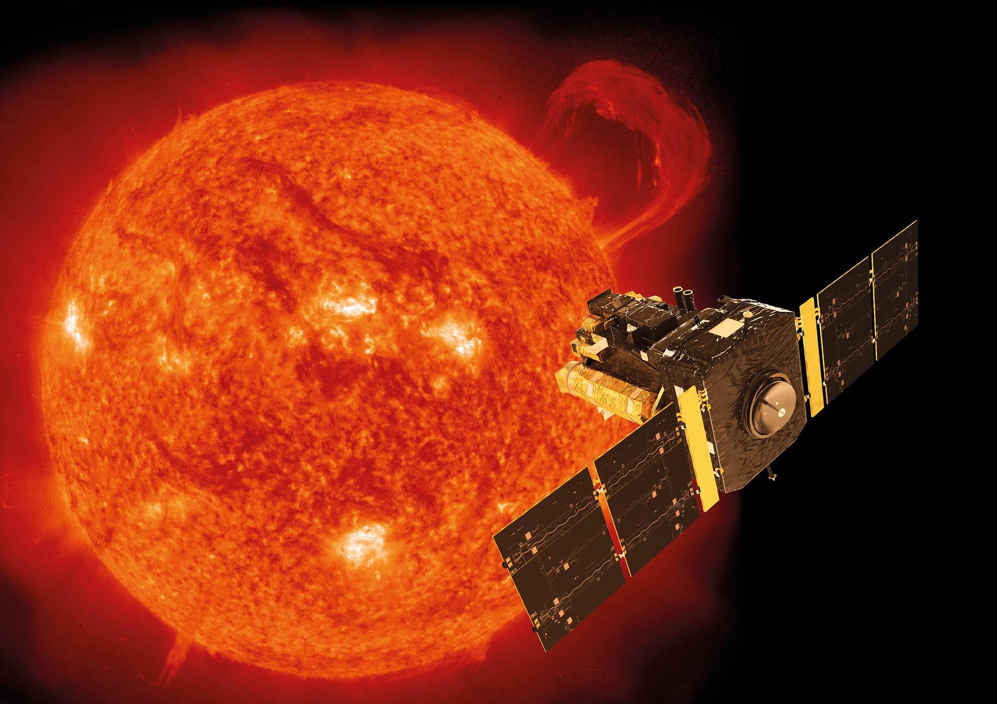 0 - SOHO a Slunce