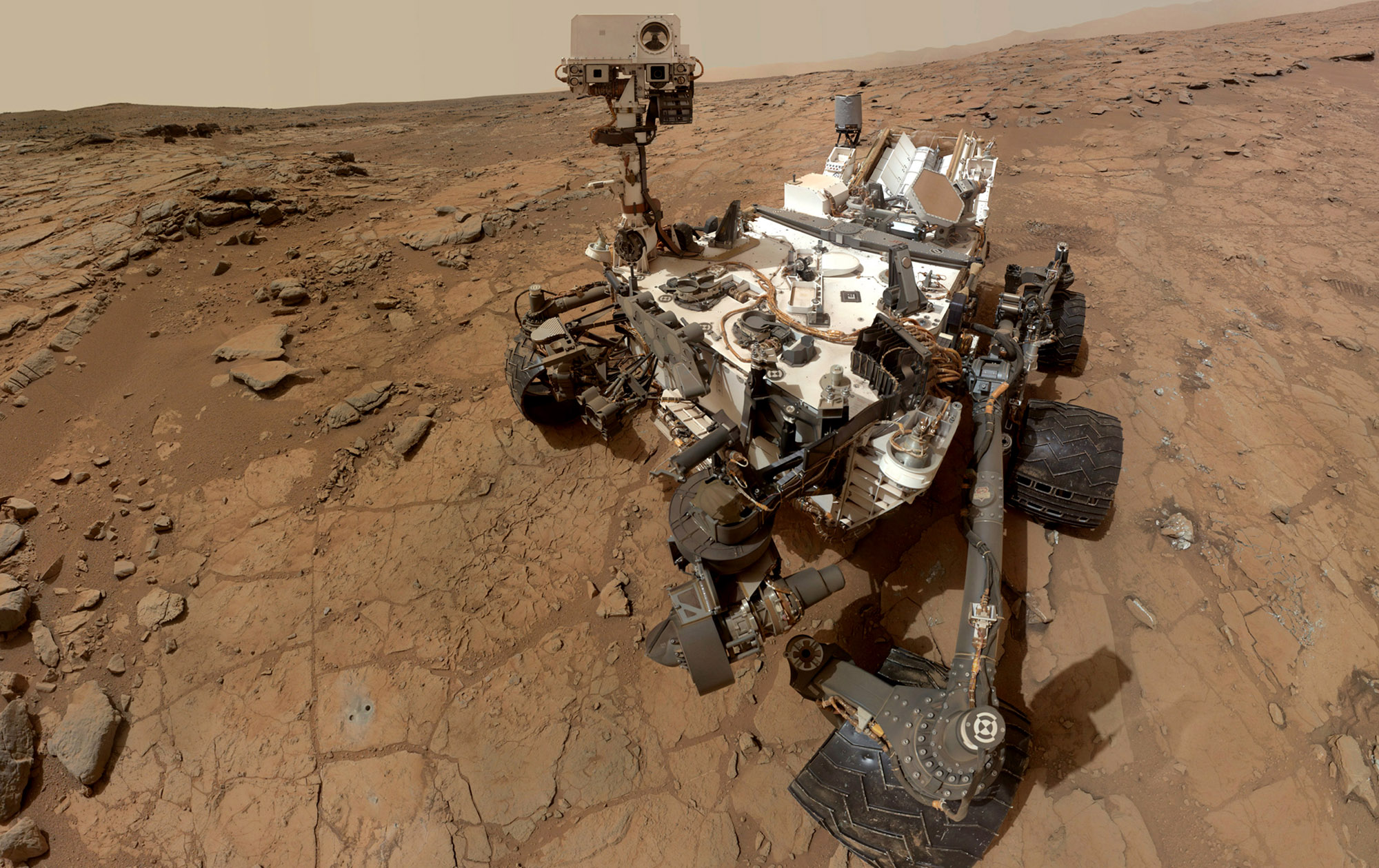 Mars Curiosity Photo Gallery