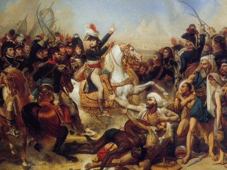 Battle of the Pyramids, July 21, 1798