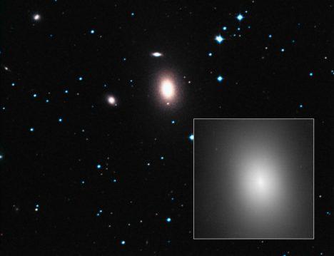 Foto: Obrazem: Černý gigant ve vesmírném zapadákově