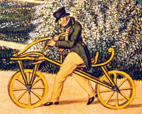 Foto: Karl Drais: Neměli bychom bez něj jízdní kolo, psací stroj ani mlýnek na maso!