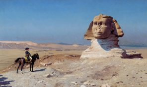 Oedipus in Egypt *oil on canvas *60,3 x 93,4 cm *signed b.r.:  J.L. GEROME *1886