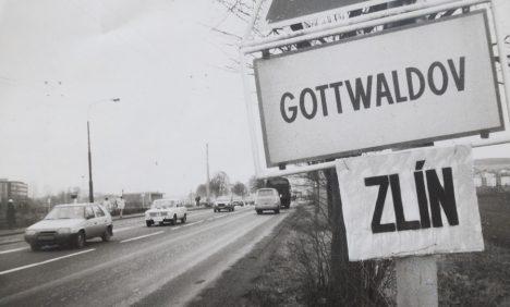 Foto: Překvapivá historie: Měla nad Zlínem zavlát slovenská vlajka?