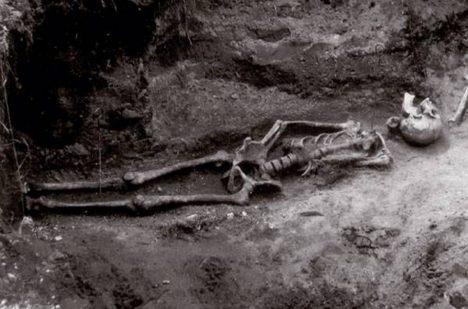 Foto: Mikulečská záhada: Byli tam pohřbeni upíři?