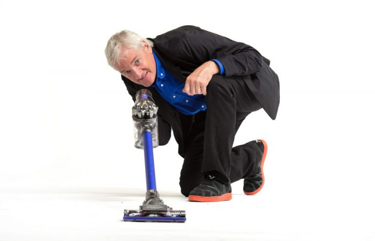 James Dyson, inventor of the Dyson vacuum cleaner with the Dyson DC44 Digital Slim model.  Tuesday, October 23, 2012     ]   GLEN STUBBE * gstubbe@startribune.com