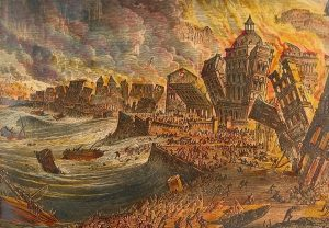 1755: Zemětřesení vyvolalo u portugalského krále klaustrofobii!