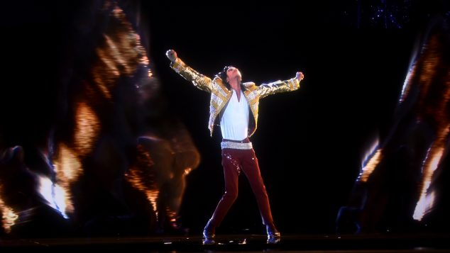 LAS VEGAS, NV - MAY 18:  A holographic image of Michael Jackson performs onstage during the 2014 Billboard Music Awards at the MGM Grand Garden Arena on May 18, 2014 in Las Vegas, Nevada.  (Photo by Kevin Winter/Billboard Awards 2014/Getty Images for DCP)