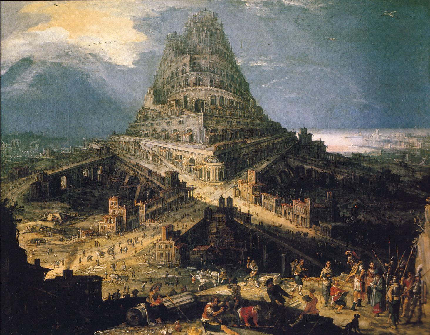 1 - Babylonská věž