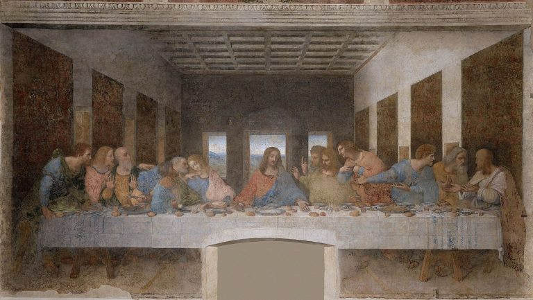 1 - Da Vinciho Poslední večeře Páně