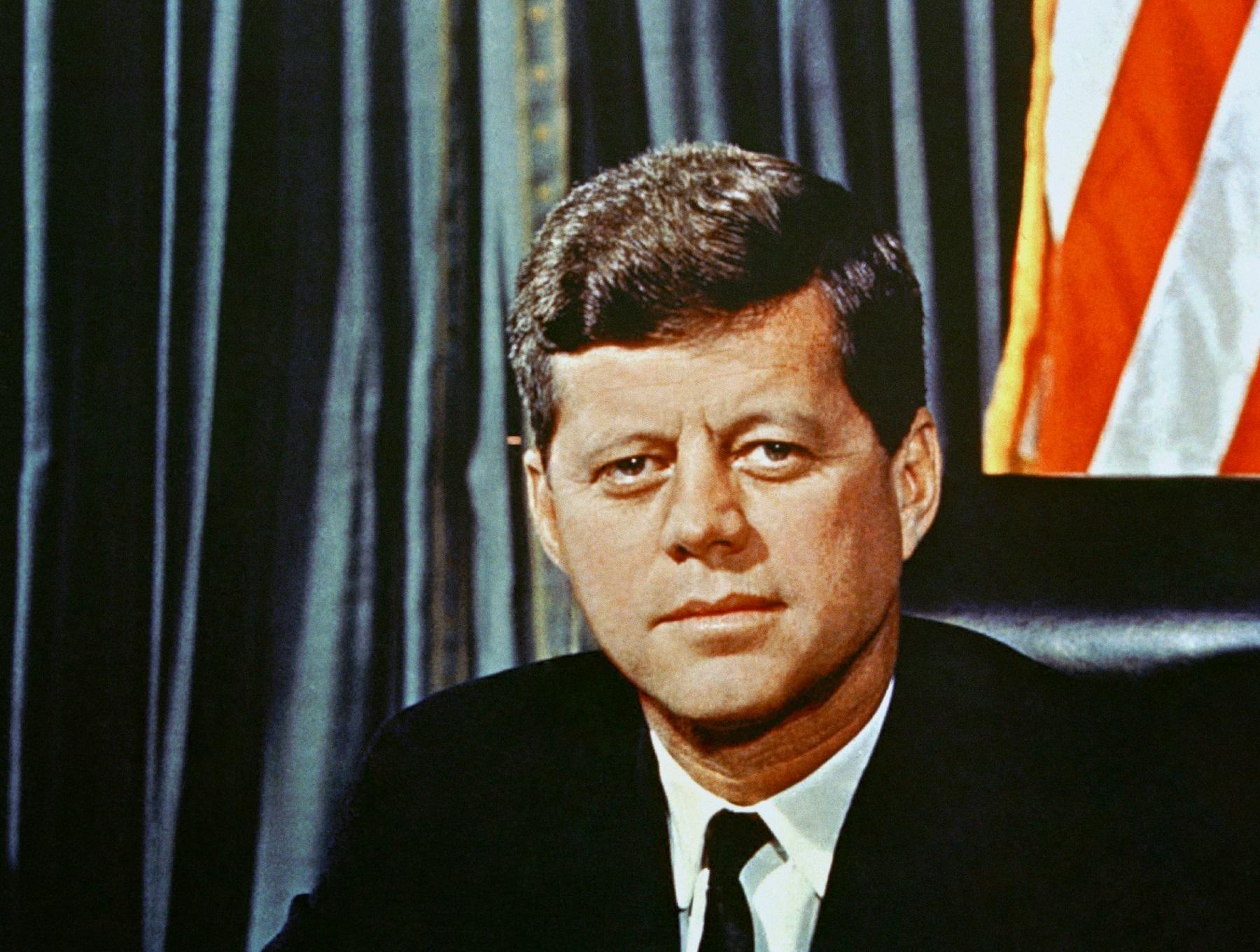 U.S  President John F. Kennedy, 1963  (AP Photo)