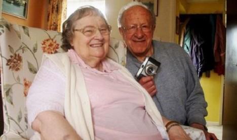 Diane Berthelot a její manžel.