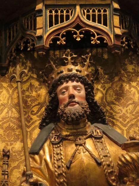 Knut IV. dánský podporuje církev a trvá na výběru daní.