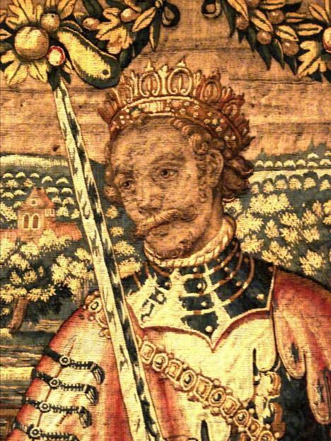 Dánský král Valdemar II. Vítězný je své ženě nevěrný. Královna to ale umí překousnout.