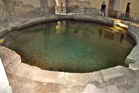 Frigidarium, Roman Baths, Bath, Somerset