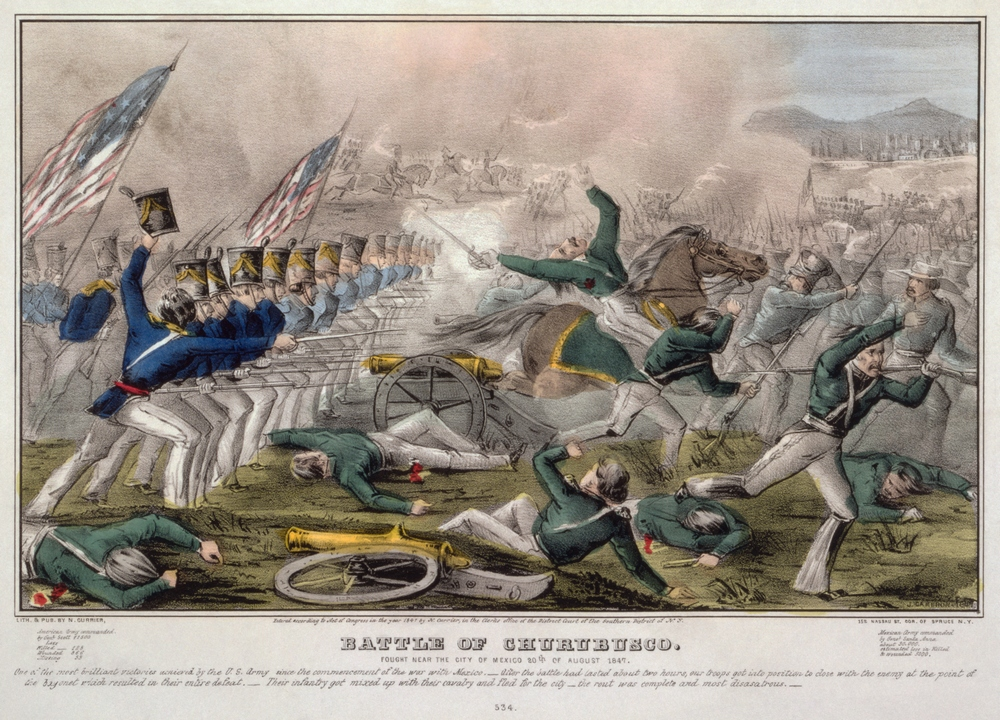 Battle of Churubusco--Fought near the city of Mexico 20th of August 1847