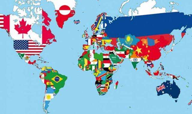 Poznej stát podle vlajky