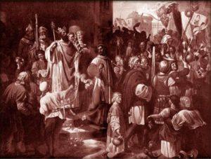 Kníže Spytihněv II. udělal ze svého bratra sluhu