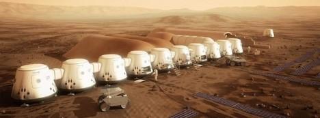 Lidé na Marsu budou muset žít ve speciálních modulových jednotkách.