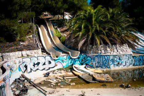 Foto: Opuštěné vodní parky: Pohnuté osudy vodních království