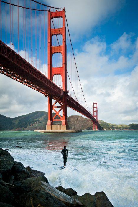 Foto: Přivlastnil si tvůrce mostu Golden Gate zásluhy svého podřízeného?
