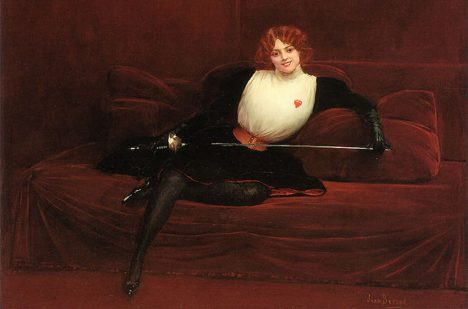 Foto: Duely, opera a sex: Takový byl život madam La Maupin!