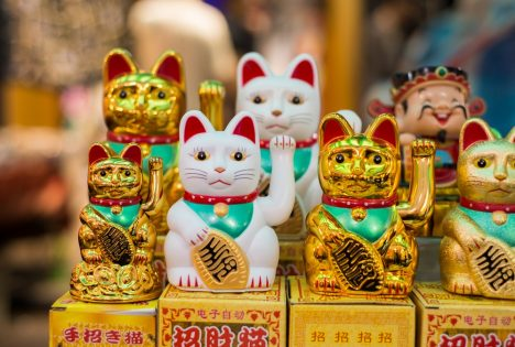 Maneki Neko Japan Lucky Cats