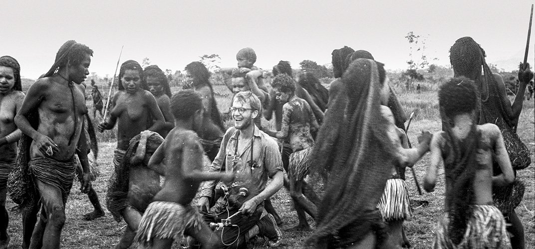 """The Baliem Valley was a """"magnificent vastness"""" in Rockefeller's eyes, and its people were """"emotionallly expressive."""" But Asmat proved to be """"more remote country than what I have ever seen."""" (President and Fellows of Harvard University; Peabody Museum of Archeology and Ethnology"""