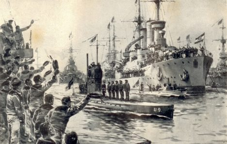 Foto: Hrozba z hlubin: Podcenili Britové německé ponorky?
