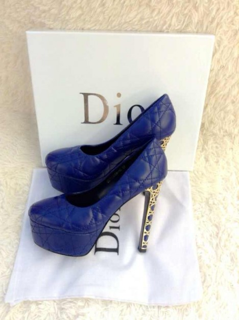 Lodičky od Christiana Diora.