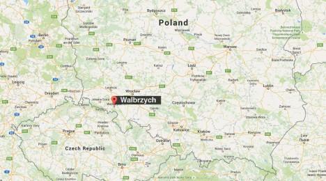 Polské městečko Wałbrzych, u kterého má být vlak pohřben, zachvátila přímo zlatá horečka.