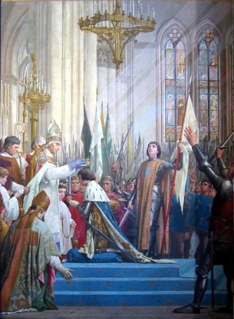 Francouzské koruny se v prostorách katedrály dočká i Karel VII.