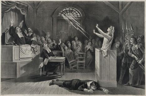 Procesy vyústí v popravy dvaceti nevinných lidí.
