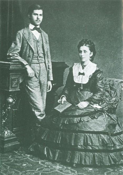 Amálie Freudová dala svému prvorozenému synovi maximum mateřské lásky.