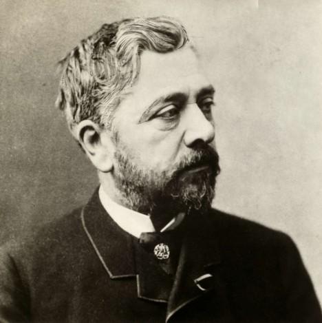 Architekt Alexandre Gustave Eiffel navrhnul mimo jiné i kostru Sochy Svobody v New Yorku.