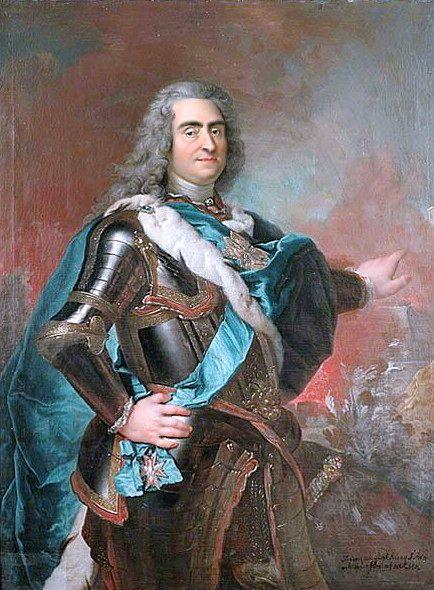 August II. Silný se proslaví svojí fyzickou silou. Klidně v rukách zlomí podkovu.