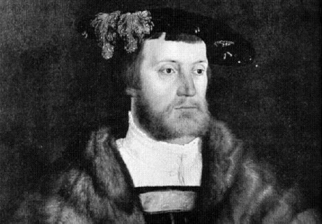 Bavorský kníže Vilém IV. z rodu Wittelsbachů nabízí Čechům úplatky. Stejně mu to ale není nic platné.