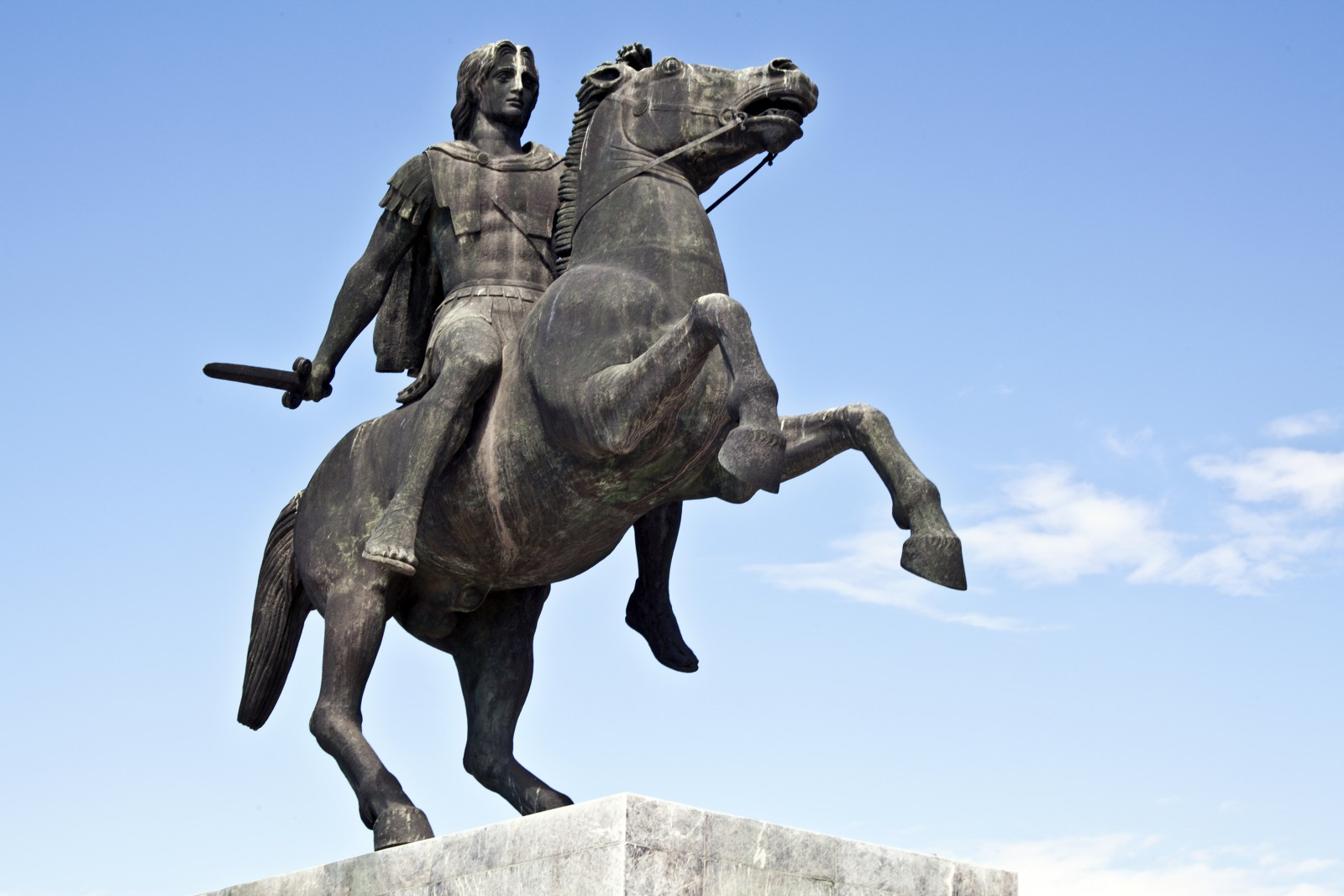 Bukefalos je patrně nejslavnějším koněm antiky.