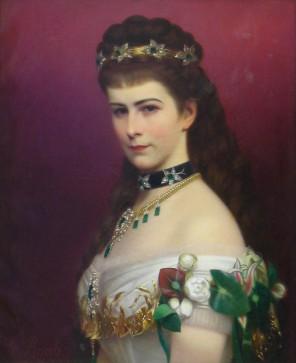 Císařovna Sissi má na portrétech zavřená ústa kvůli špatnému chrupu.