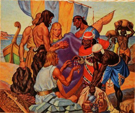 Foto: Spor o objevení Ameriky: Dopluli tam jako první Féničané?