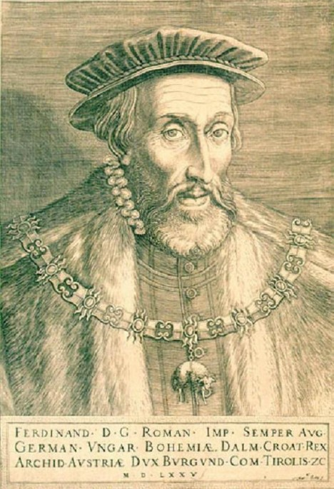 Ferdinand I. si chce sice českou šlechtu koupit, ale v době svého panování s ní moc dobře nevychází.