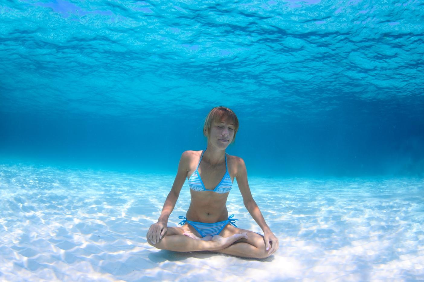 voda potápění