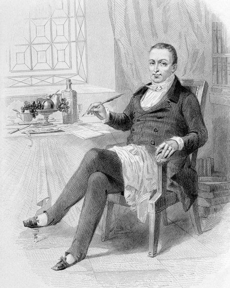 Používání příborů propagoval v 19. století francouzský soudce Jean Anthelme Brillat-Savarin považovaný za zakladatele moderní kuchyně.