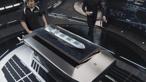 Z pozemního velínu bude možné lodě také na dálku kontrolovat zvenčí pomocí palubních dronů s kamerami.
