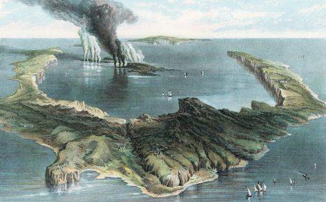 Díky analýzám ledu mohli vědci přesně určit třeba dobu ničivého výbuchu sopky Théra v Egejském moři.