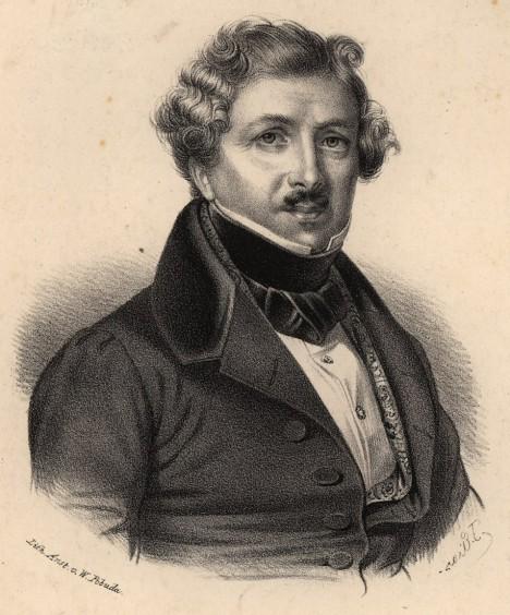Francouz Louis Daguerre svého anglického konkurenta nakonec předběhne.