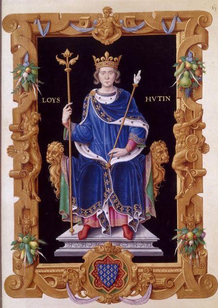 Francouzskému králi Ludvíkovi X. se zřejmě stane osudnou hra podobná tenisu.