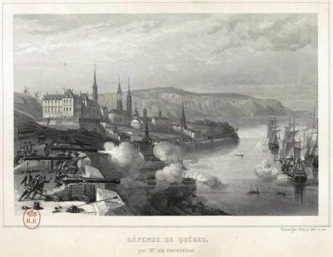 Francouzský Quebec bojuje v roce 1690 proti dnešnímu státu Massachusetts. Vojsko tehdy dostává žold v prvních papírových bankovkách.