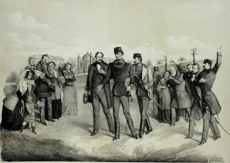 František Josef I. je otřesený. O život mu dosud nikdo neusiloval.