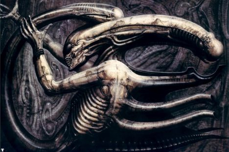 Foto: Výtvarník H. R. Giger stvořil nejslavnější monstrum v historii